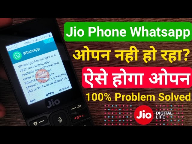 Whatsapp pdf download in jio phone
