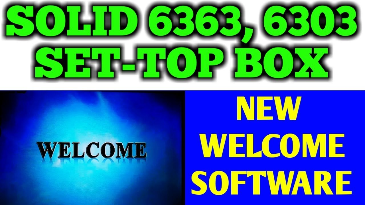 solid 6363 new software | Infilum